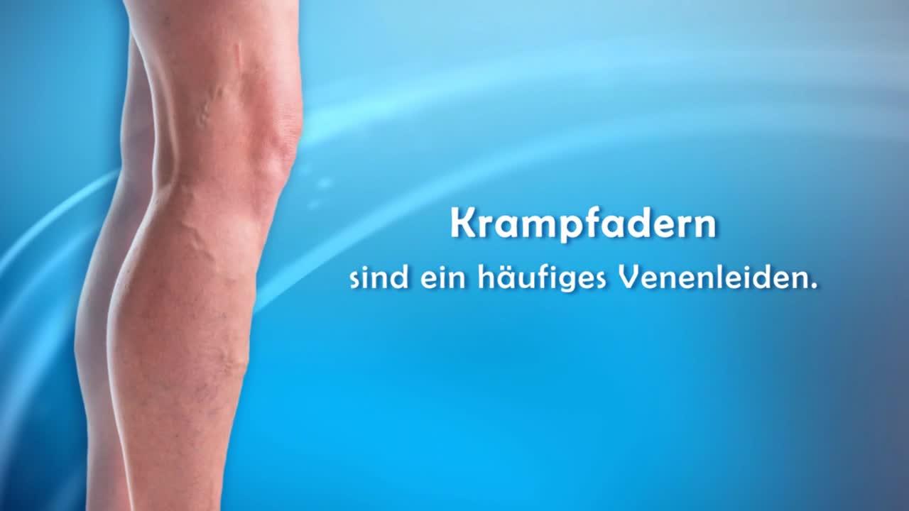 Krampfader-Behandlung (Venenkleber)